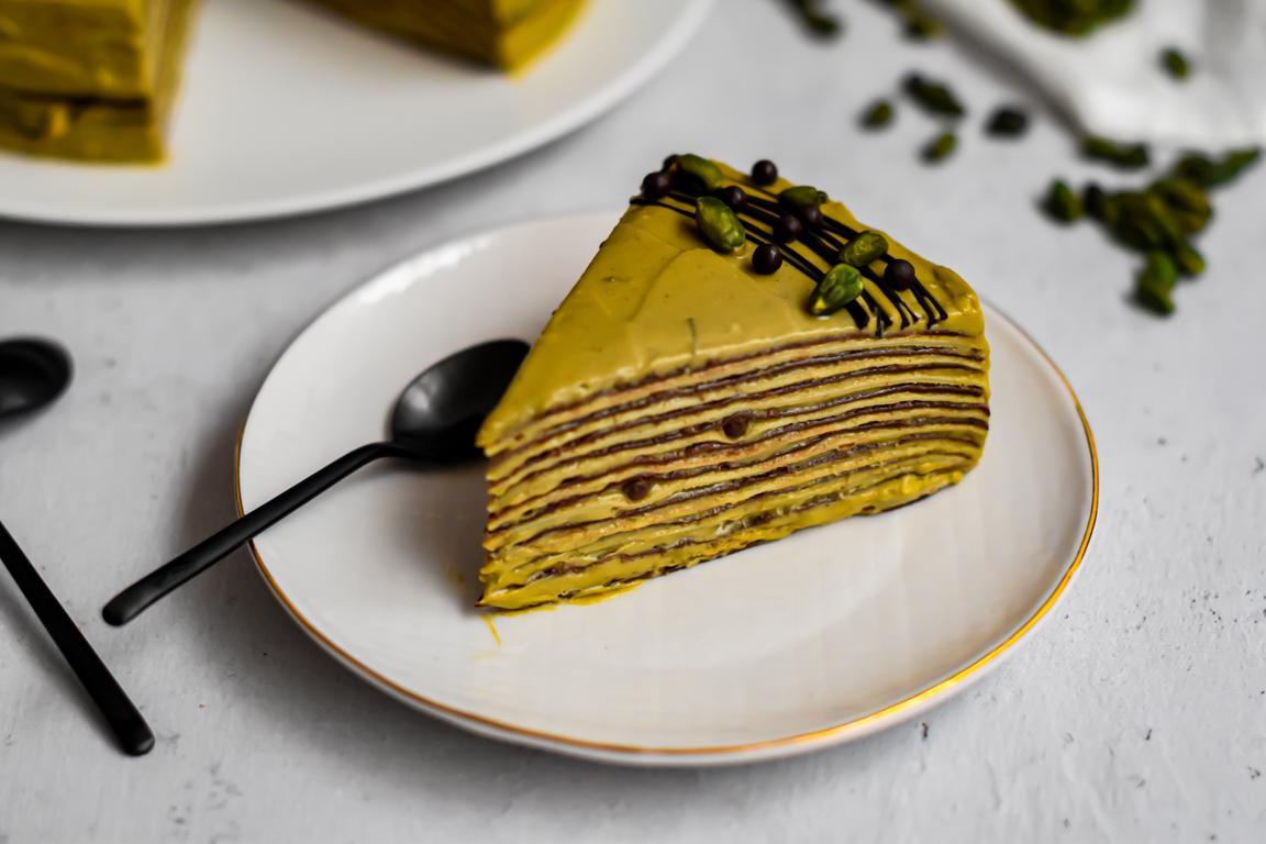 gateau crepes chocolat pistache 16