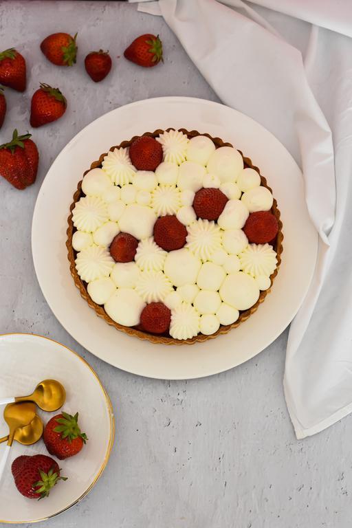 tarte fraise yaourt 12