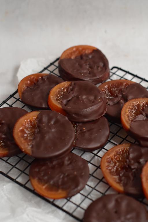 oranges confites chocolat 6