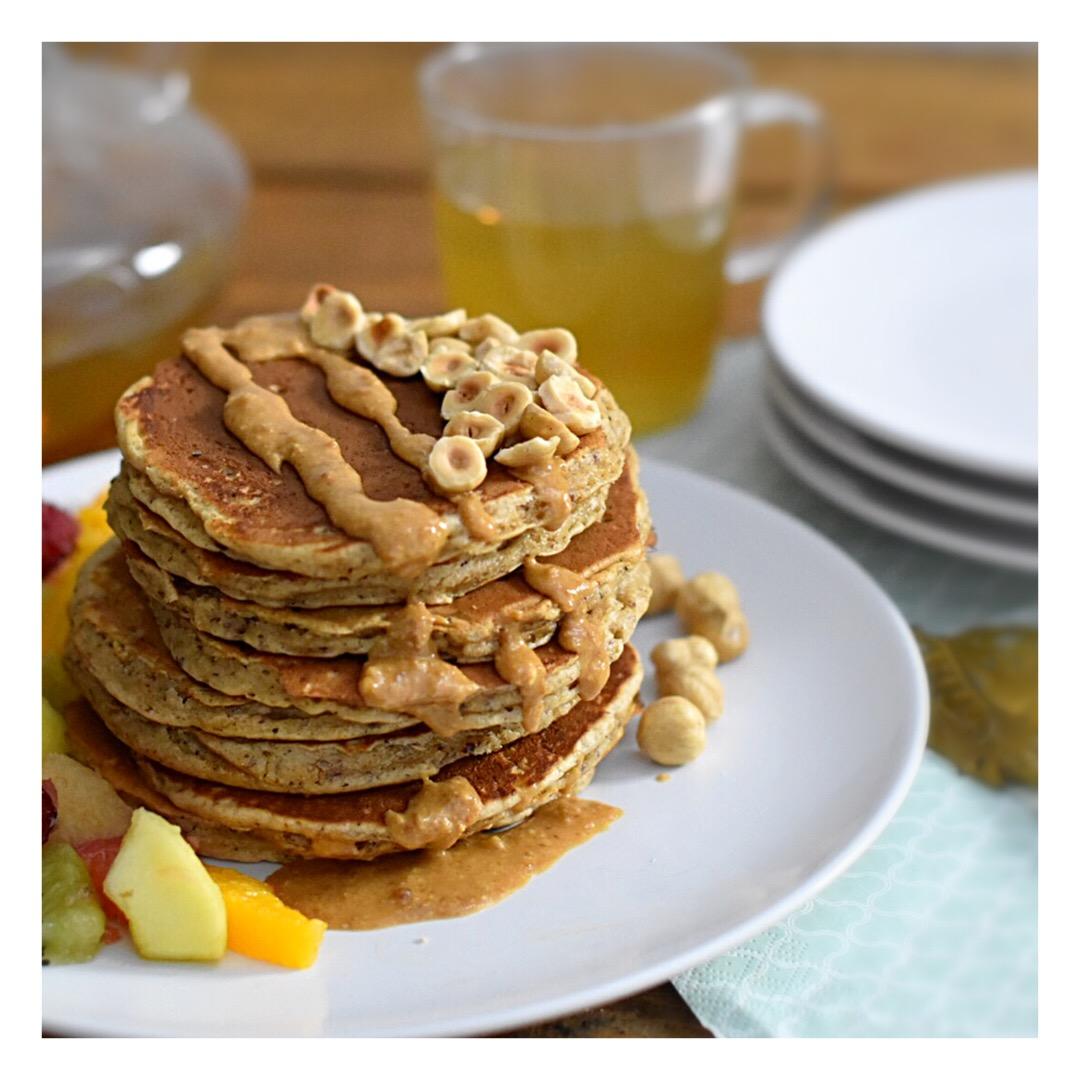 Pancakes noisette & praliné