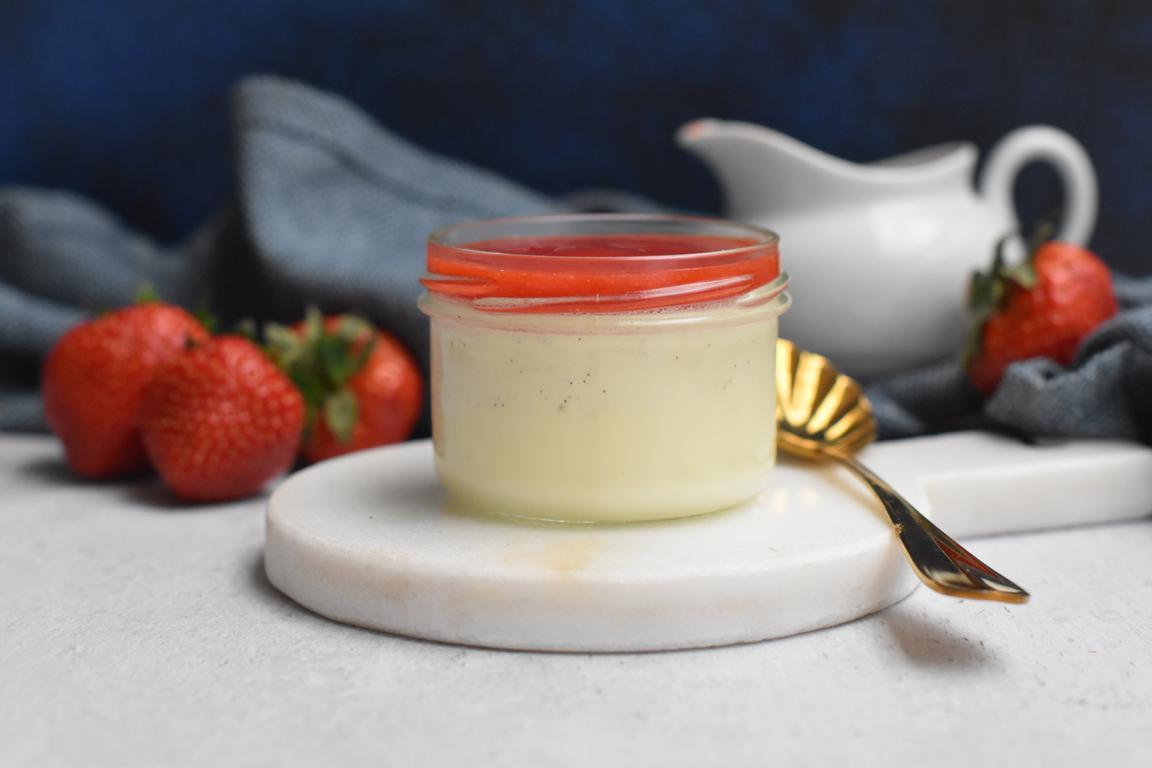 panna cotta vanille fraise 10