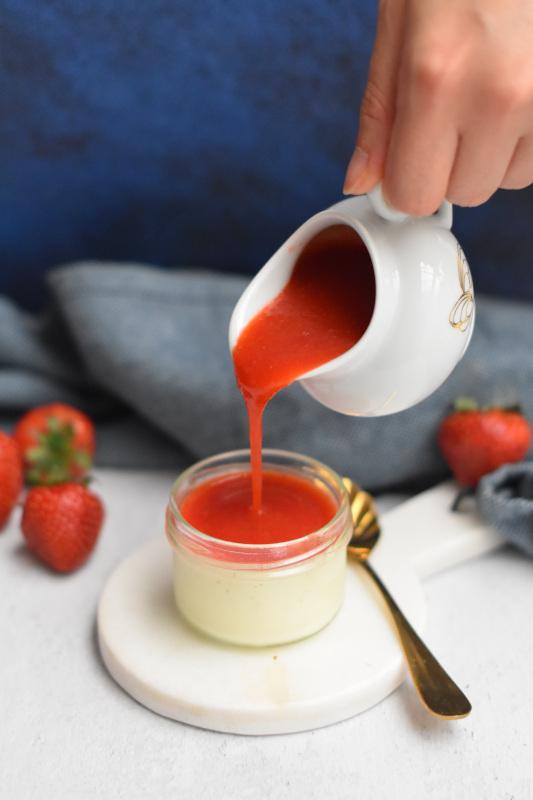 panna cotta vanille fraise 7