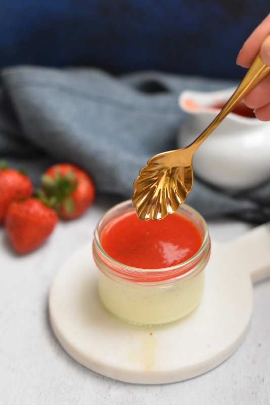 panna cotta vanille fraise 8