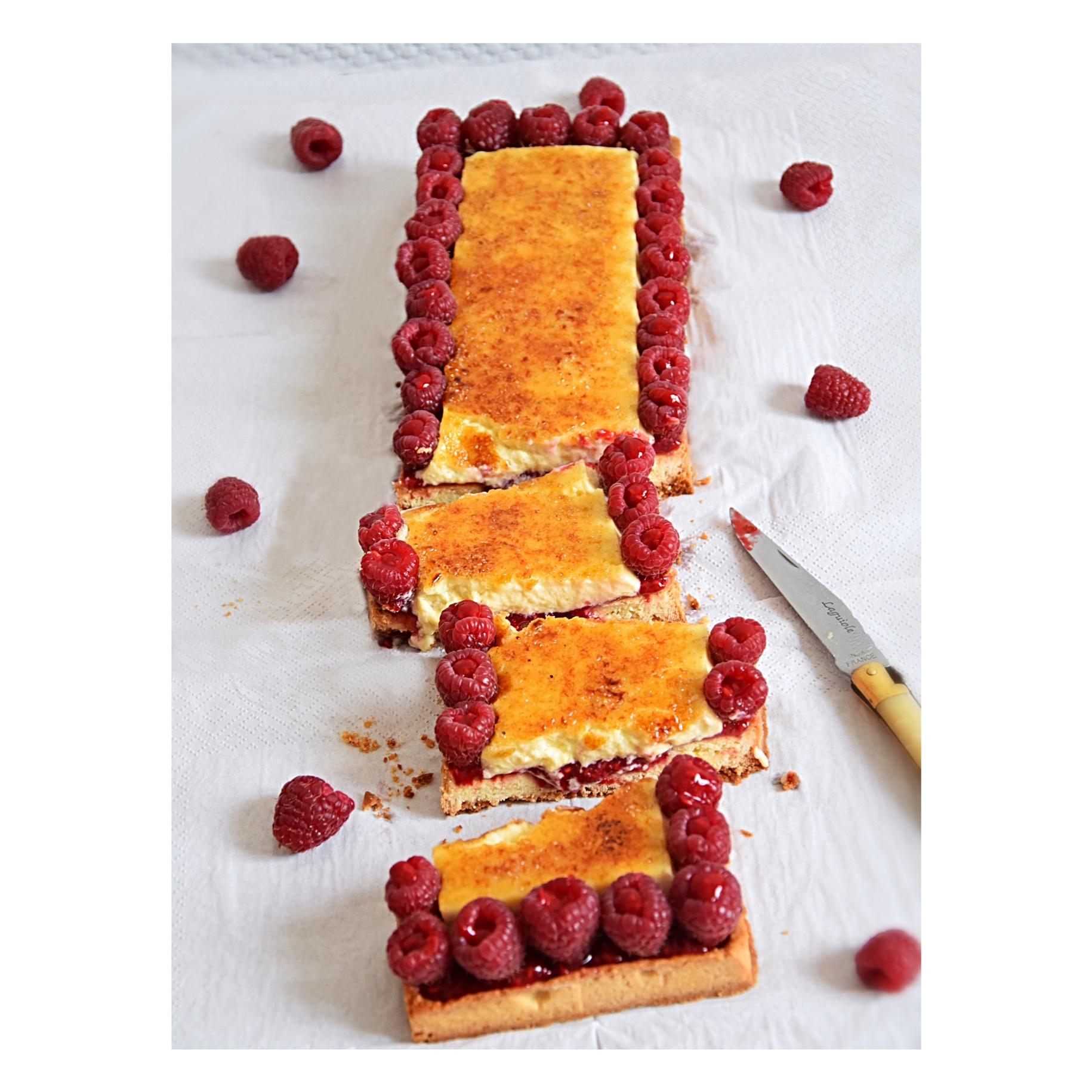 T arte crème brûlée - framboise