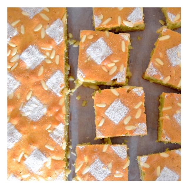 Pinolata (gâteau aux pignons toscan)