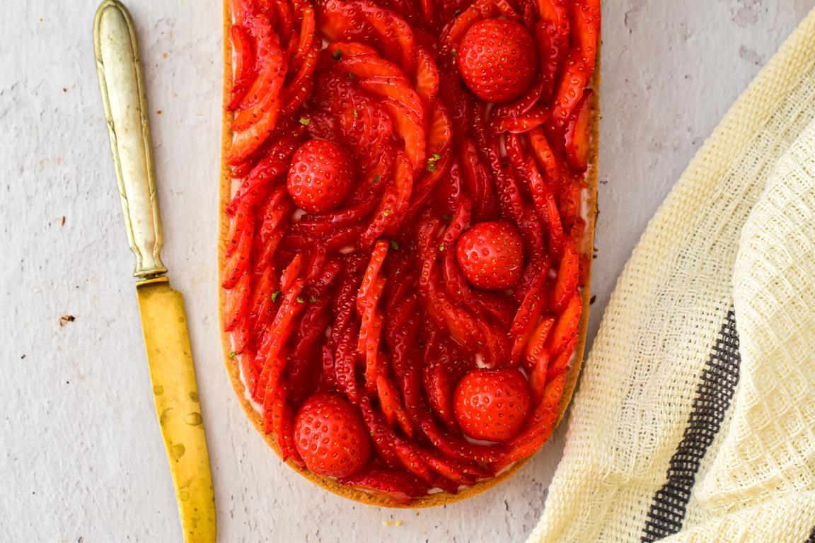 tarte pannacotta fraise combawa 12