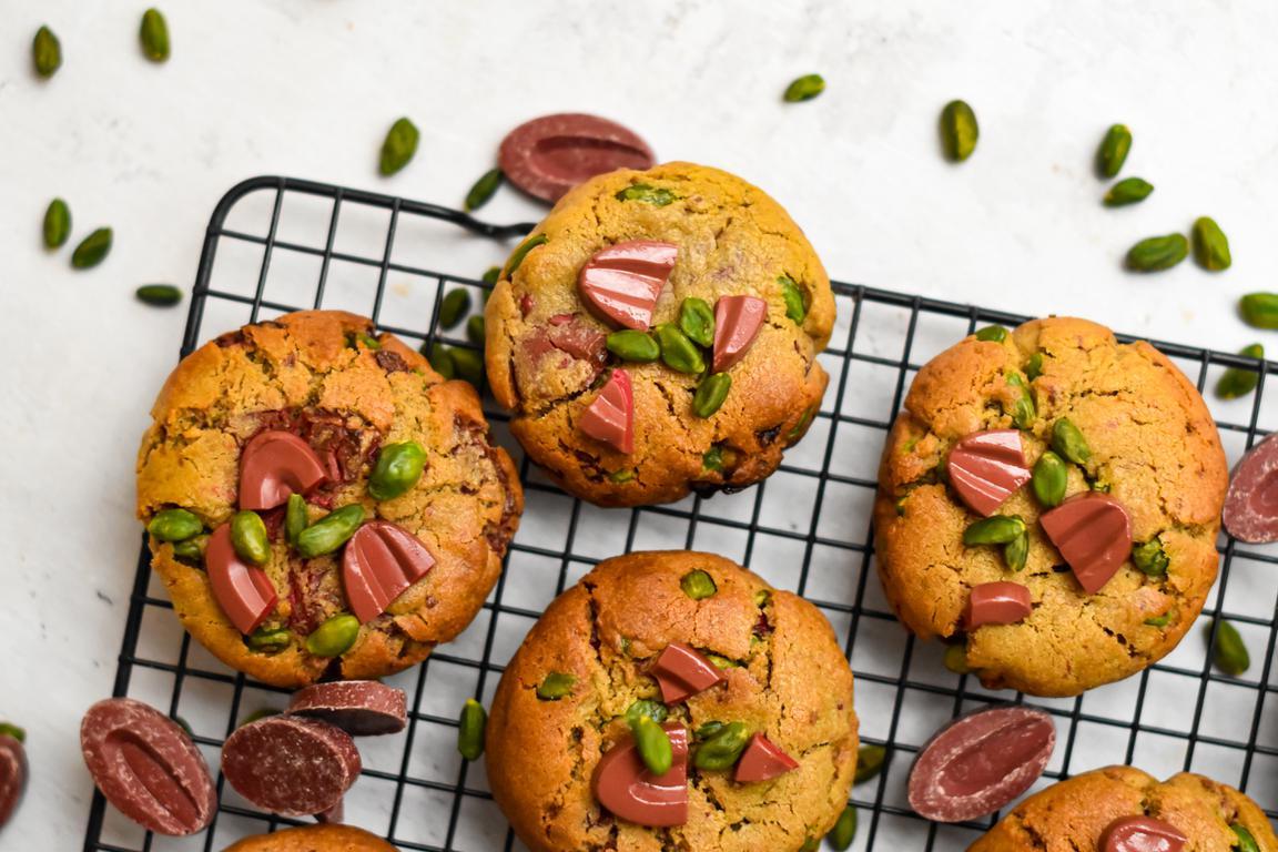 cookies framboise pistache 7