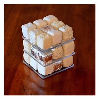 Rubik's cake (Cédric Grolet)