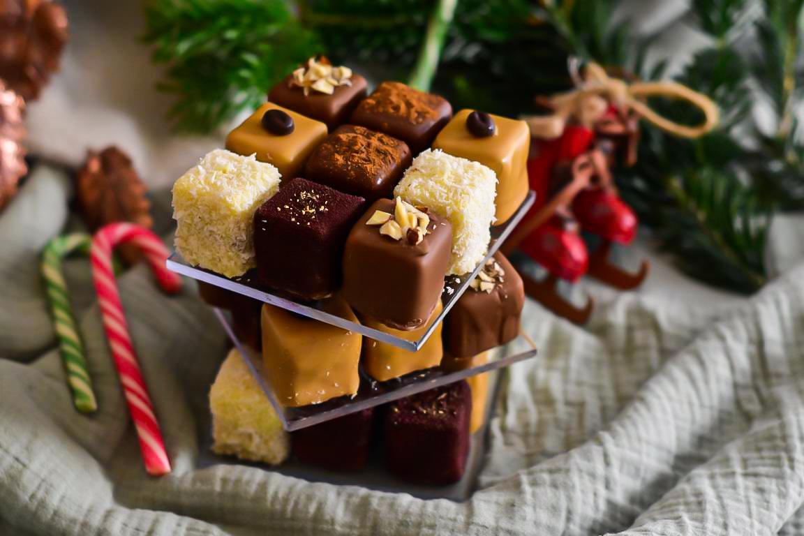 rubiks cake chocolat 40
