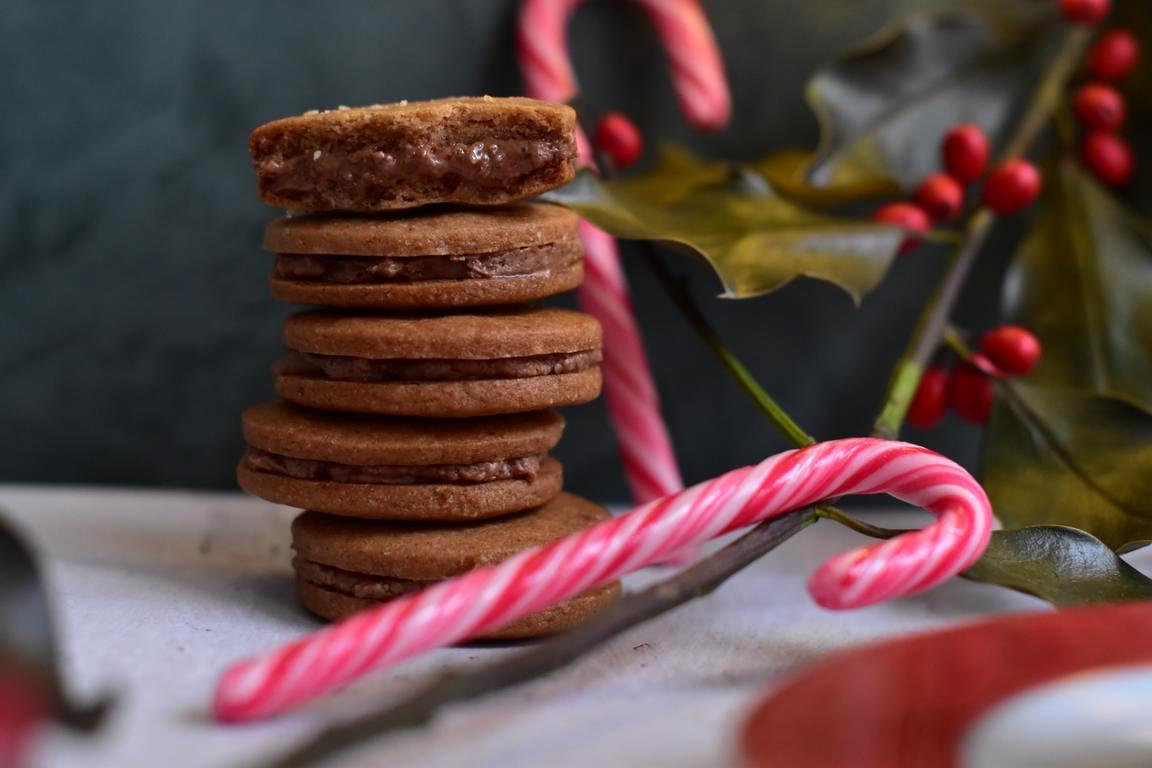 Sablés spéculoos & praliné noix de pécan (Kevin Lacote)