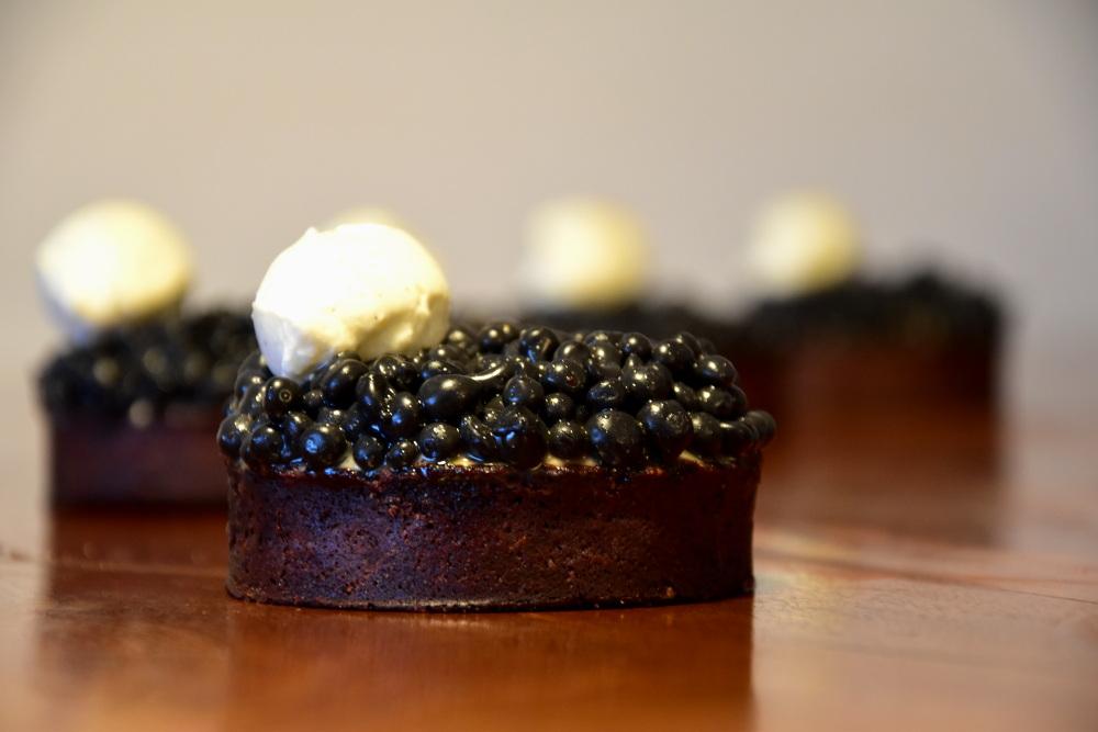 Tarte au caviar de chocolat (Dominique Ansel)