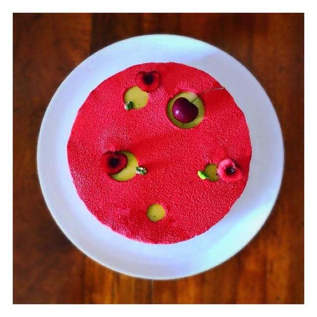 Tarte cerise & pistache (Claire Heitzler)