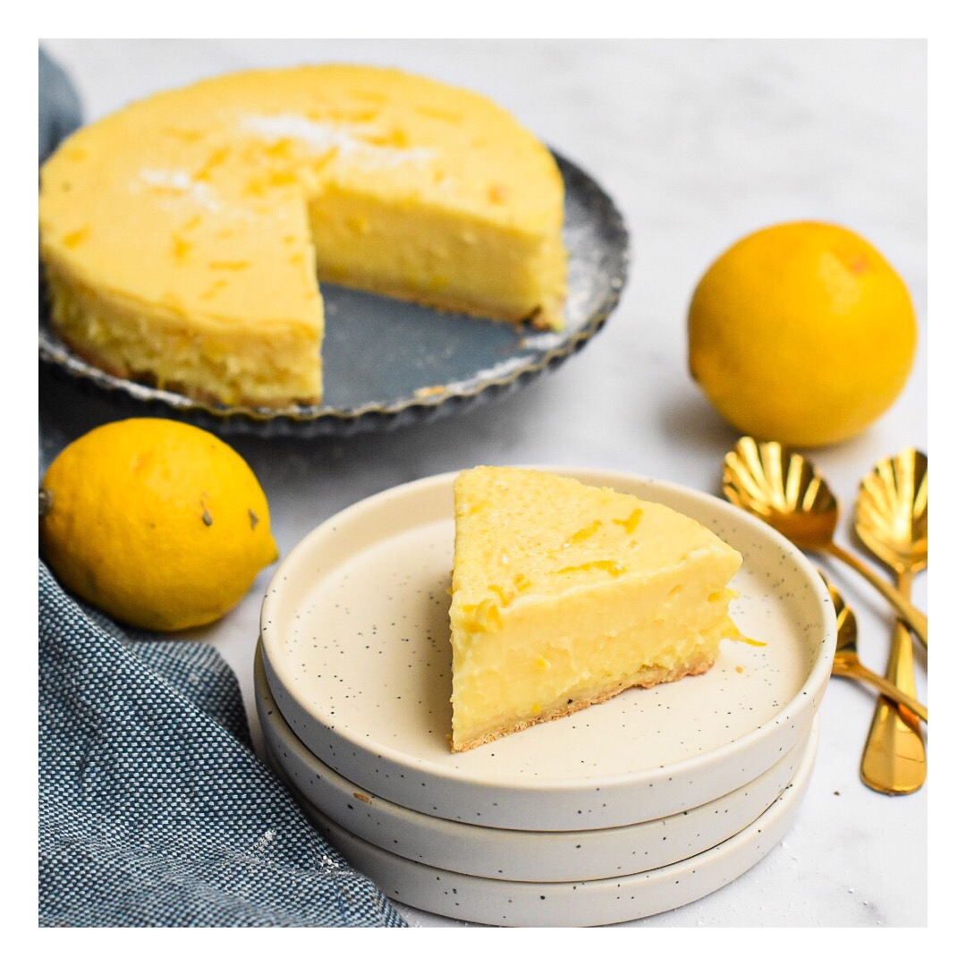 Tarte au citron cuite au four (Christophe Adam)
