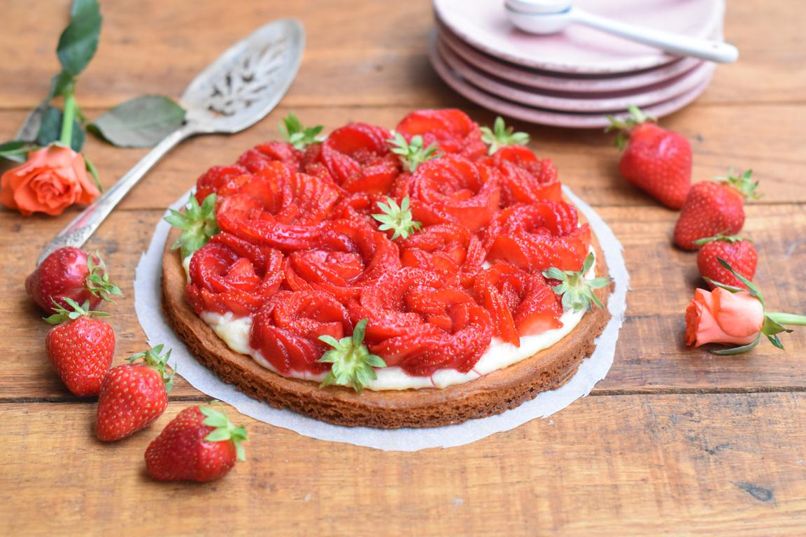 Tarte fraise & vanille
