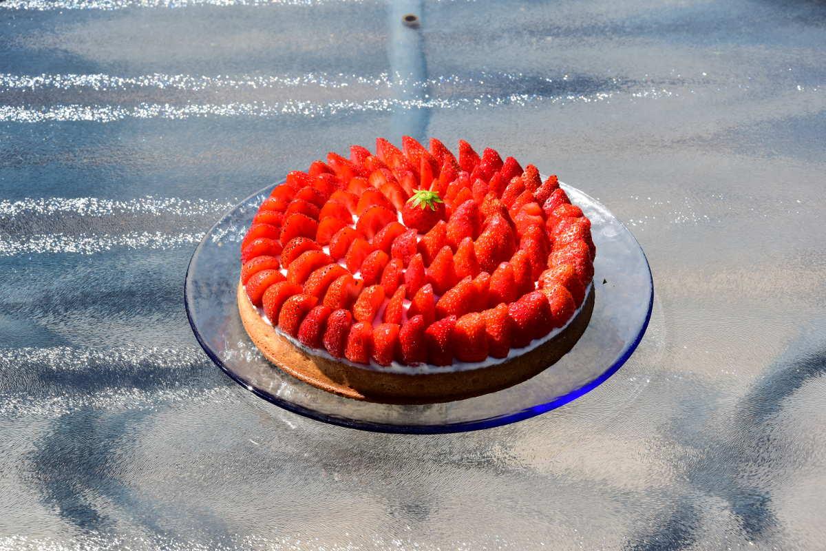 Tarte fraise & chantilly