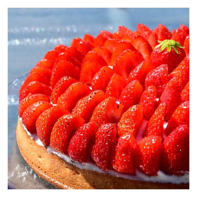 Tarte fraise & chantilly