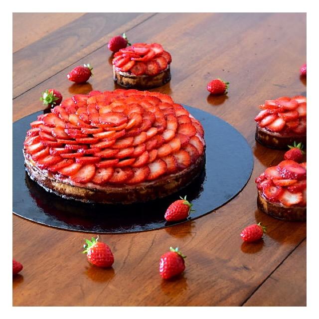 Tarte aux fraises (Cédric Grolet)