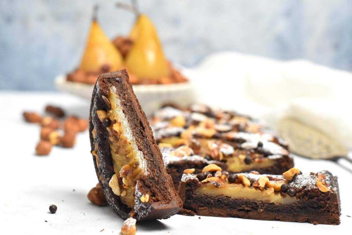 tarte bourdaloue choco noisette 23