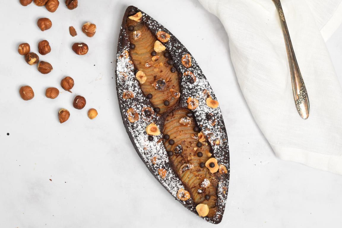 tarte bourdaloue choco noisette 24