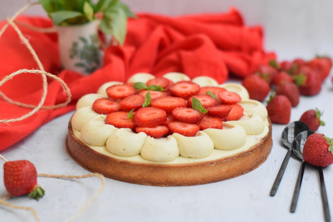tarte fraise basilic 41