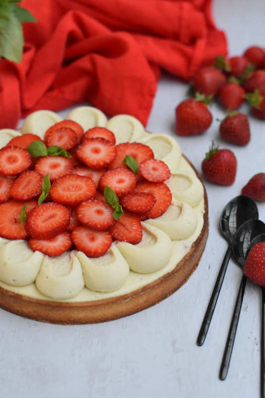 tarte fraise basilic 43