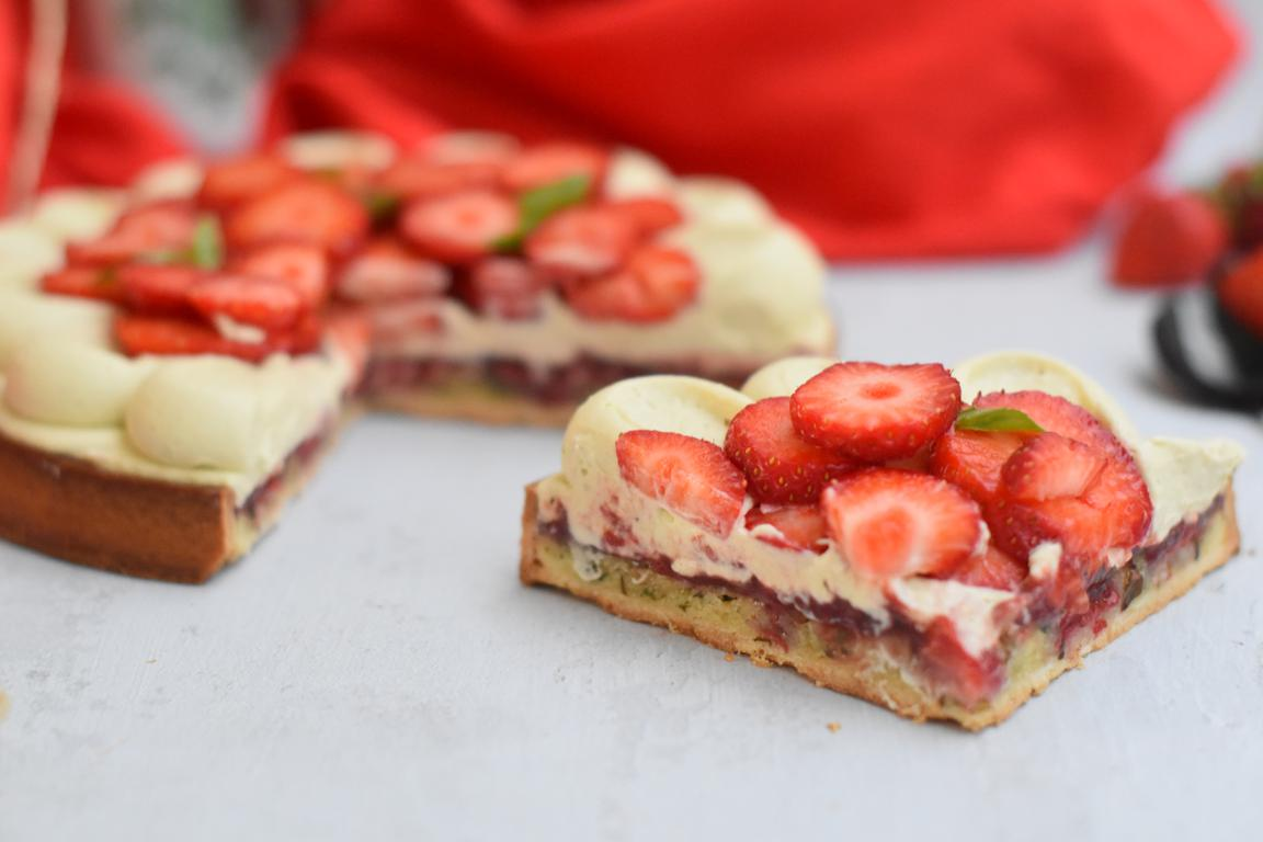 tarte fraise basilic 45