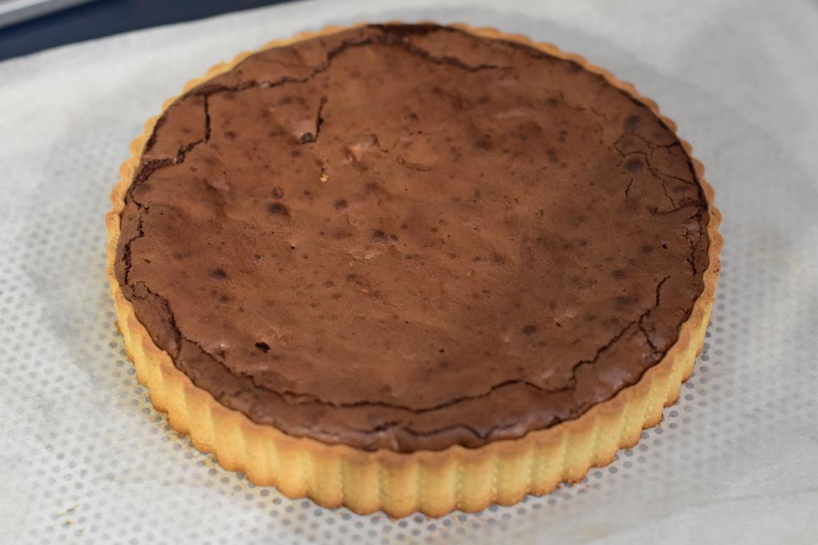 tarte rbrownie caramel noisette 18