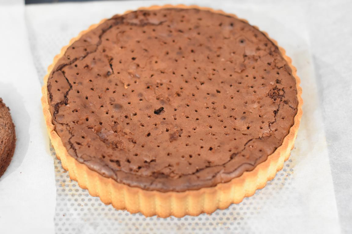 tarte rbrownie caramel noisette 19
