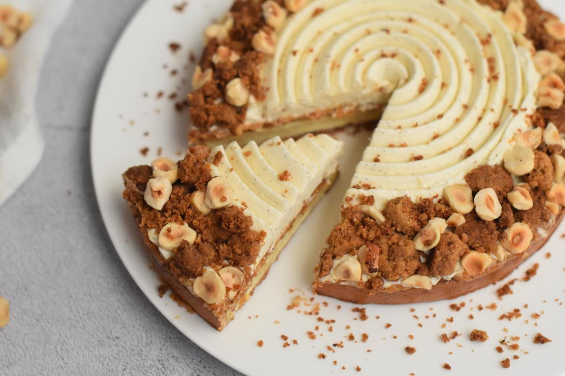 tarte vanille noisette 31