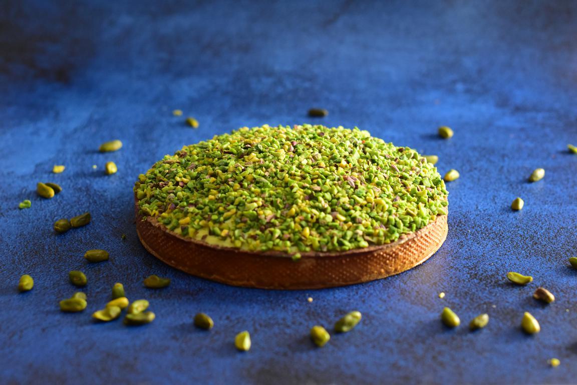 Tarte pistache (Cédric Grolet)