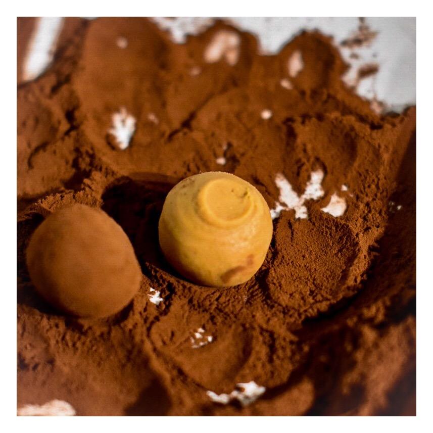 Truffes dulcey & café