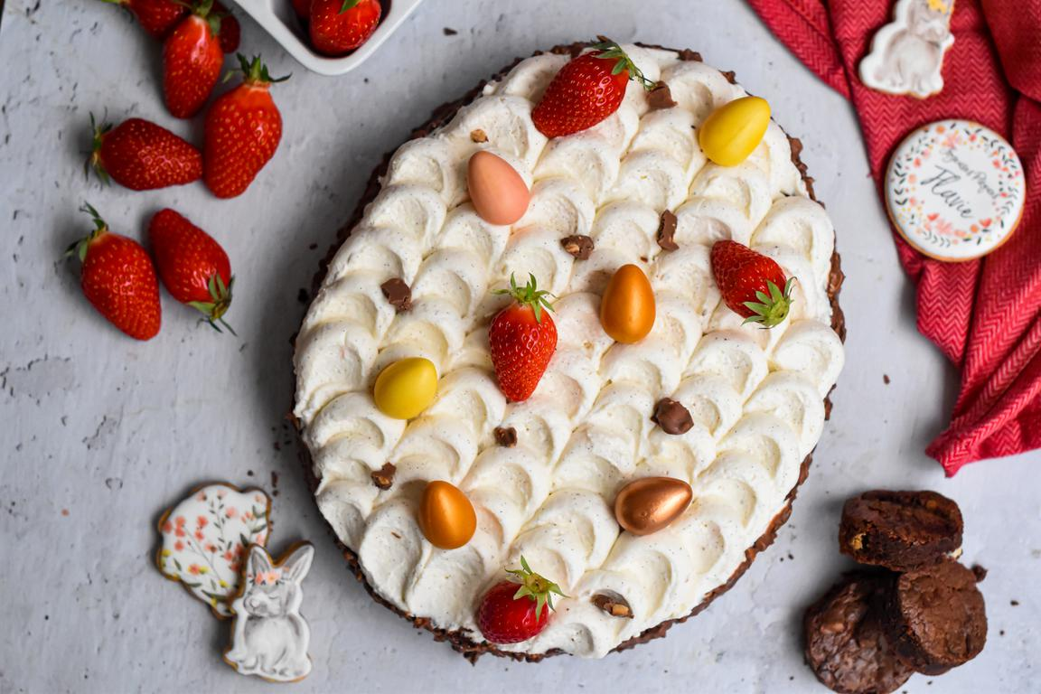 brownie fraise paques 22