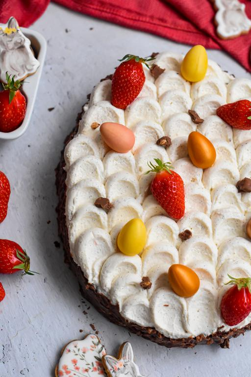 brownie fraise paques 23