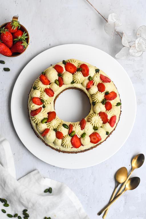 gateau pistache fraise 19
