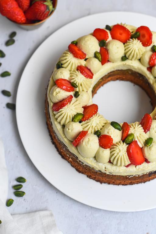 gateau pistache fraise 18