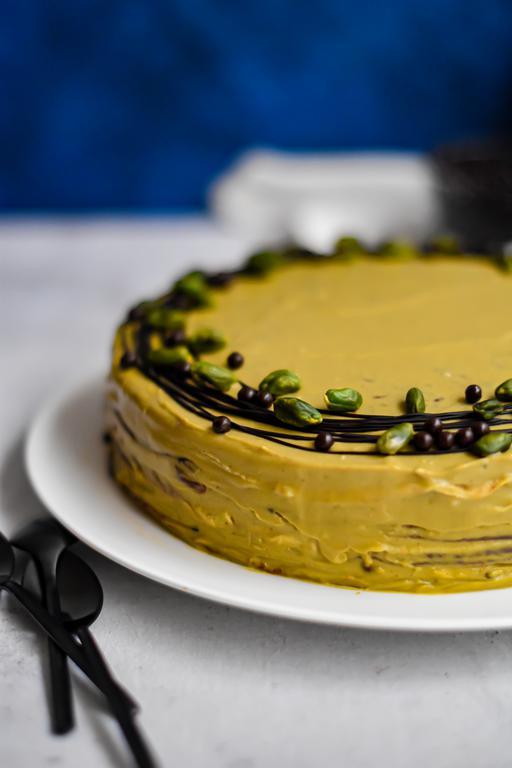 gateau crepes chocolat pistache 14