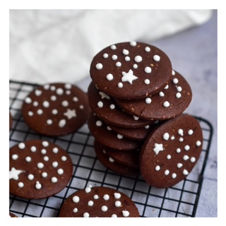 Pan di stelle (sablés au chocolat)