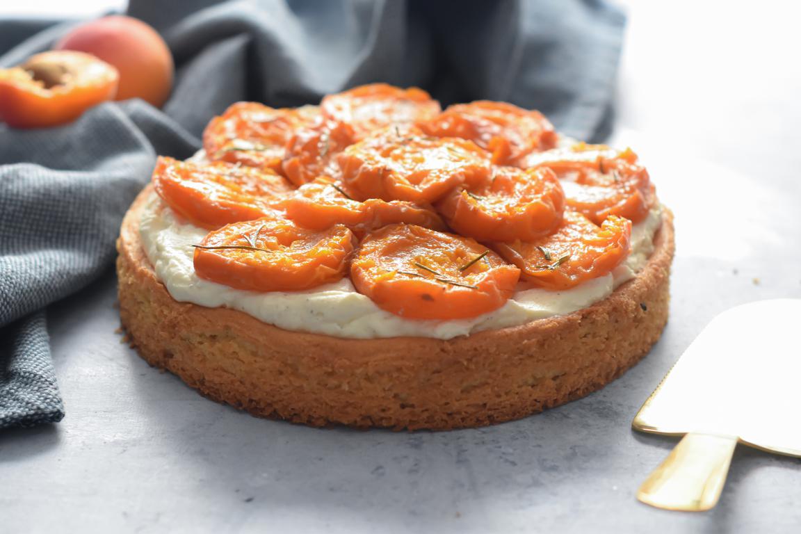 tarte abricots vanille huile dolive 13